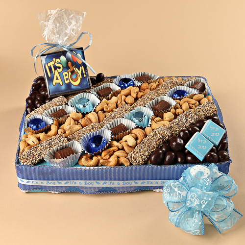 Baby Boy Medium Party Platter