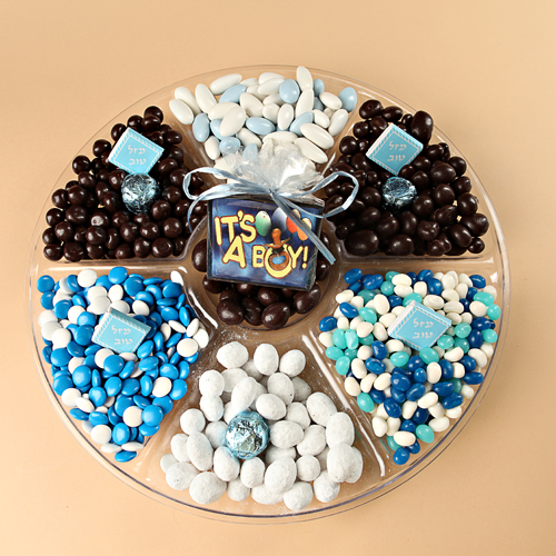 Baby Boy Gift Platter- Free Shipping!