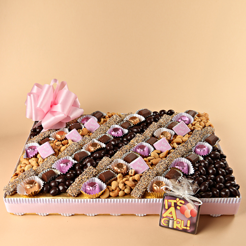 Baby Girl Large Indulgent  Platter