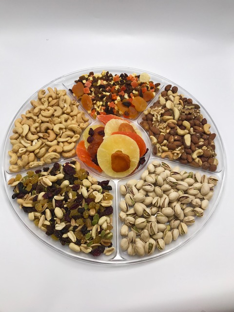 Fruit and Nut Large Platter