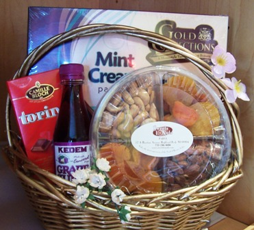 Passover holiday basket - free shipping