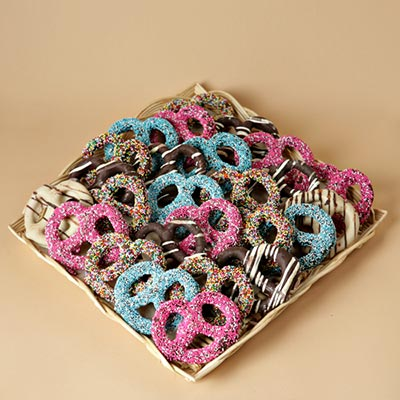 Chocolate Pretzels Galore!