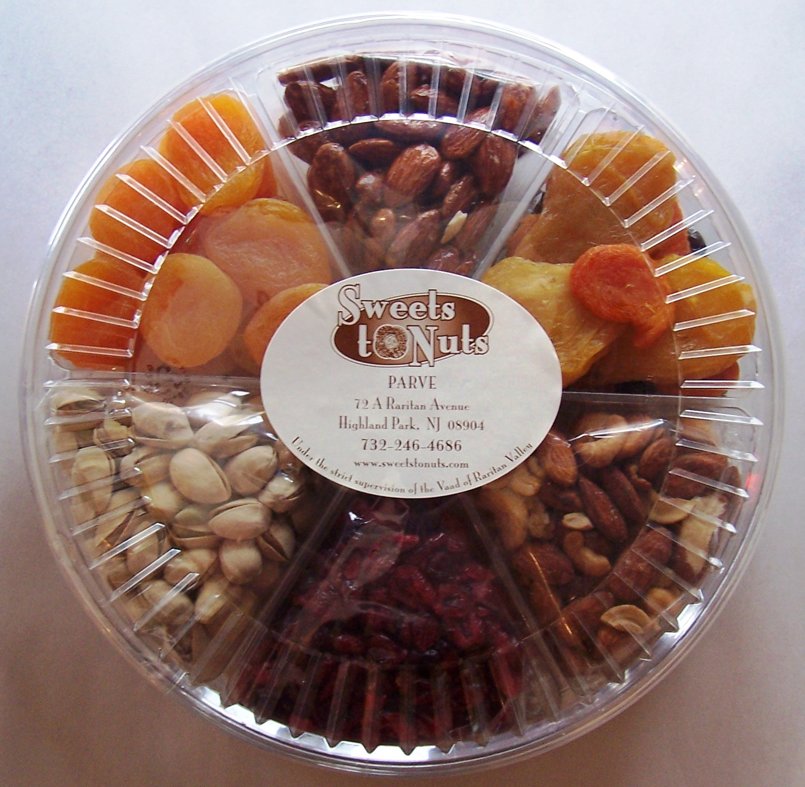 Passover Deluxe Fruit and Nut Platter