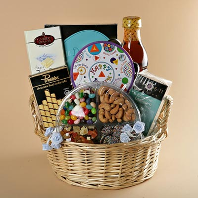 Popular Purim Basket - Free Shipping!