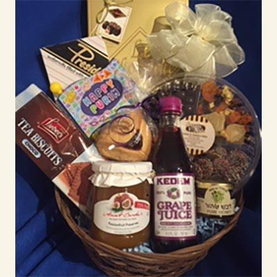 Purim Celebration Basket