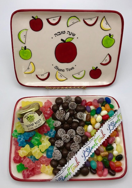 Rosh Hashanah  Candy Platter! Free Shipping!